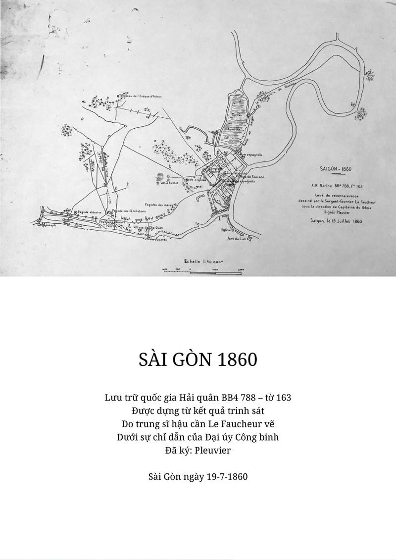Công bố 5 bản đồ Pháp tấn công Sài Gòn chưa từng được tiết lộ - ảnh 3