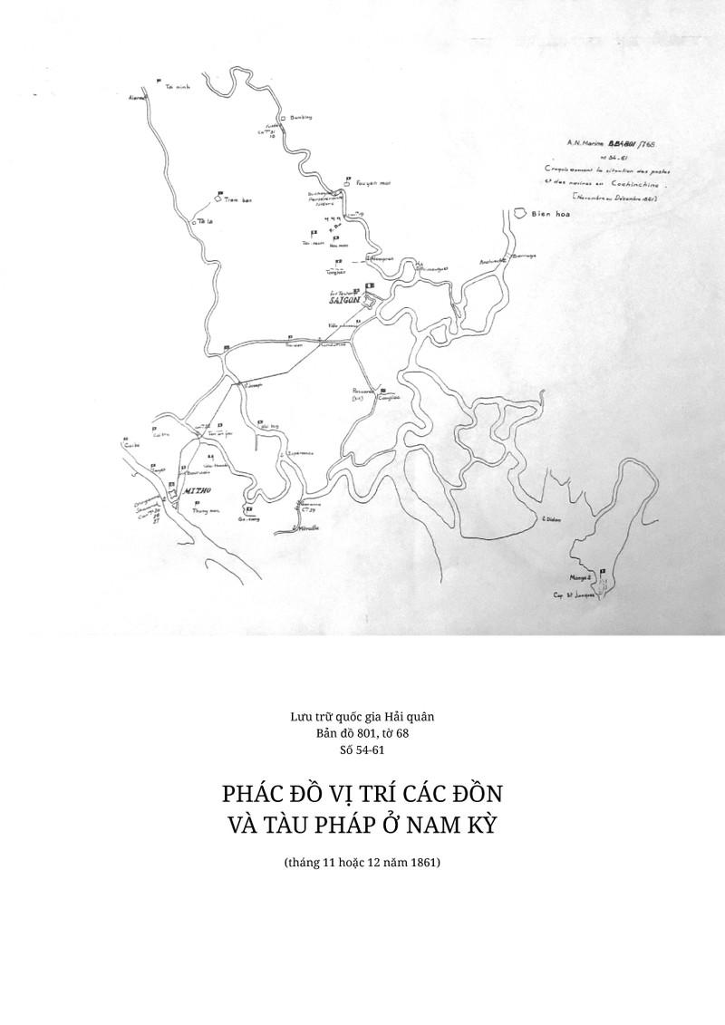 Công bố 5 bản đồ Pháp tấn công Sài Gòn chưa từng được tiết lộ - ảnh 5