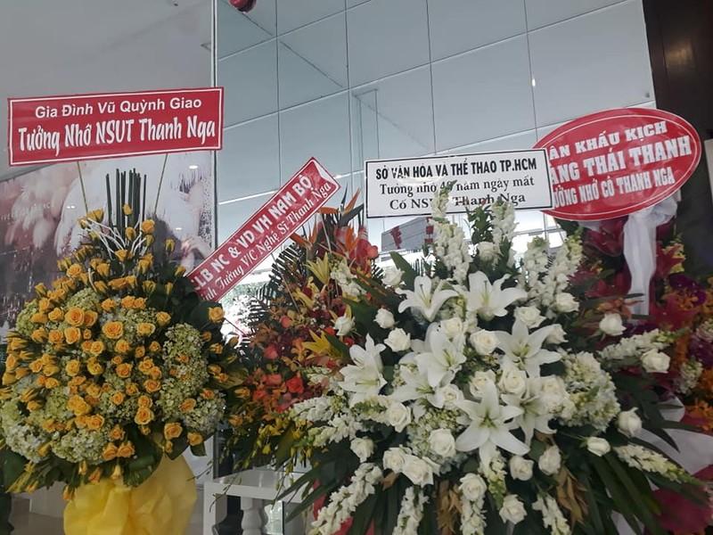 Đông đảo nghệ sĩ tên tuổi dự tưởng niệm ngày mất NS Thanh Nga - ảnh 2