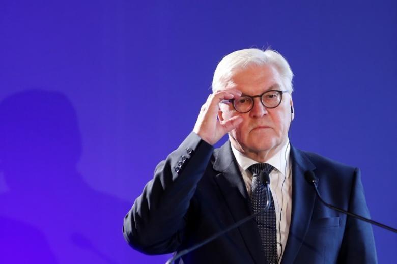 Ngoại trưởng Đức Frank-Walter Steinmeier trong một cuộc họp báo tại Pháp ngày 10-12-2016. Ảnh: REUTERS