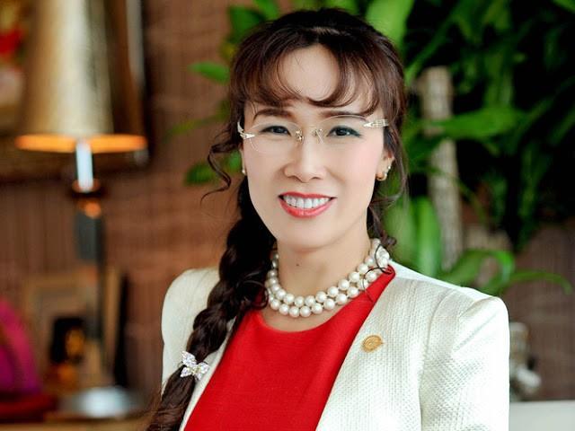 Tổng Giám đốc Vietjet Nguyễn Thị Phương Thảo là phụ nữ Việt Nam đầu tiên được bầu vào danh sách nữ tỷ phú thế giới. Ảnh: INTERNET