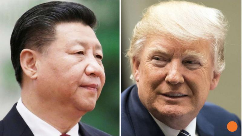 Chủ tịch Trung Quốc Tập Cận Bình (trái) sắp sang Mỹ gặp Tổng thống Mỹ Donald Trump. Ảnh: SCMP