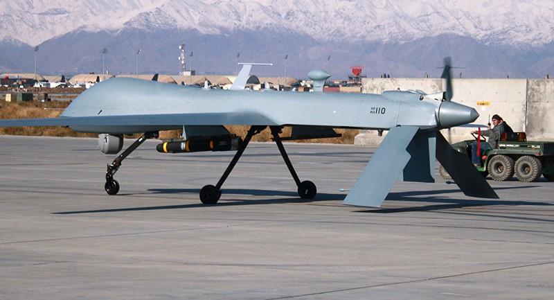 Máy bay không người lái Predator chuyên thực hiện không kích của Mỹ. Ảnh: AFP