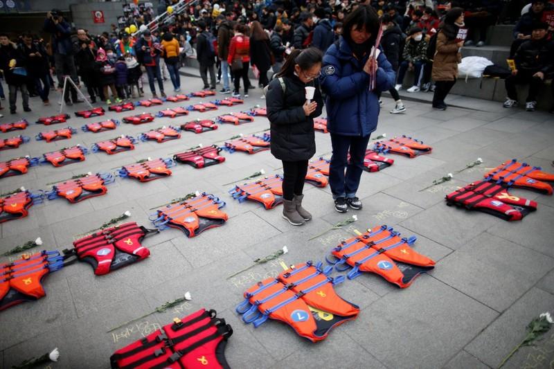 biểu tình ở Seoul ngày 17-12-2016 đòi bà Park Geun-hye từ chức tổng thống