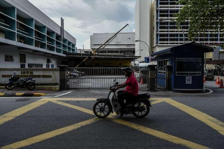 Bệnh viện Kuala Lumpur, nơi lưu giữ thi thể ông Kim Jong-nam.  Ảnh: AFP
