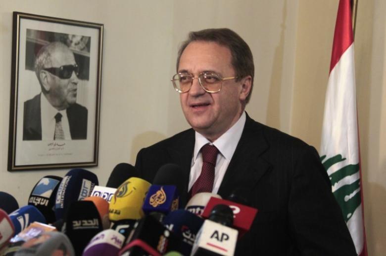Thứ trưởng Ngoại giao Nga Mikhail Bogdanov cho biết Mỹ, Nga, LHQ sẽ gặp nhau tuần tới về Syria. Ảnh: REUTERS