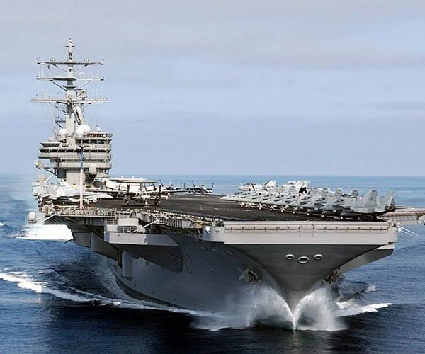Tàu sân bay hạt nhân USS Nimitz của Mỹ sắp có mặt ở Thái Bình Dương. Ảnh: GETTY IMAGES