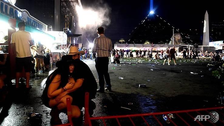 Hiện trường vụ xả súng. Ảnh: AFP