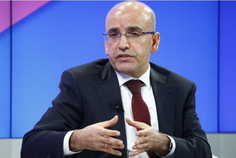 Phó Thủ tướng Thổ Nhĩ Kỳ Mehmet Simsek xuống nước xoa dịu Mỹ mong Mỹ nối lại việc cấp visa cho dân Thổ Nhĩ Kỳ. Ảnh: REUTERS