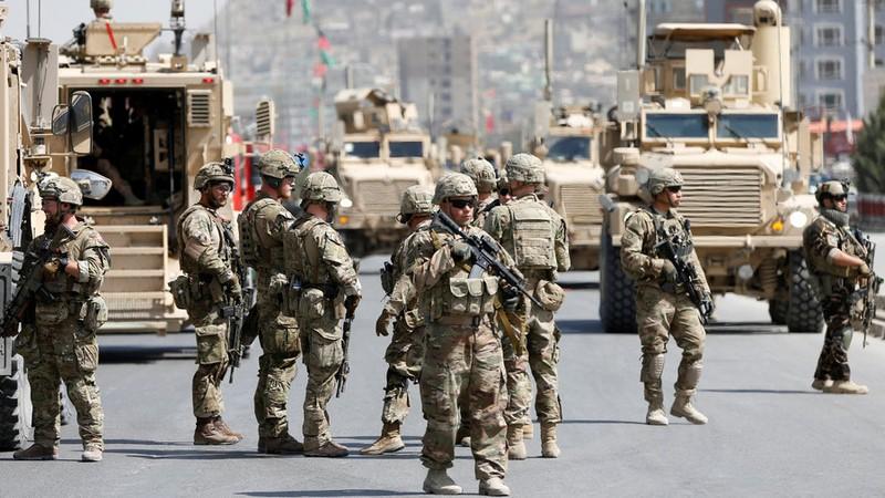 Lính Mỹ và NATO ở Kabul (Afghanistan). Ảnh: REUTERS