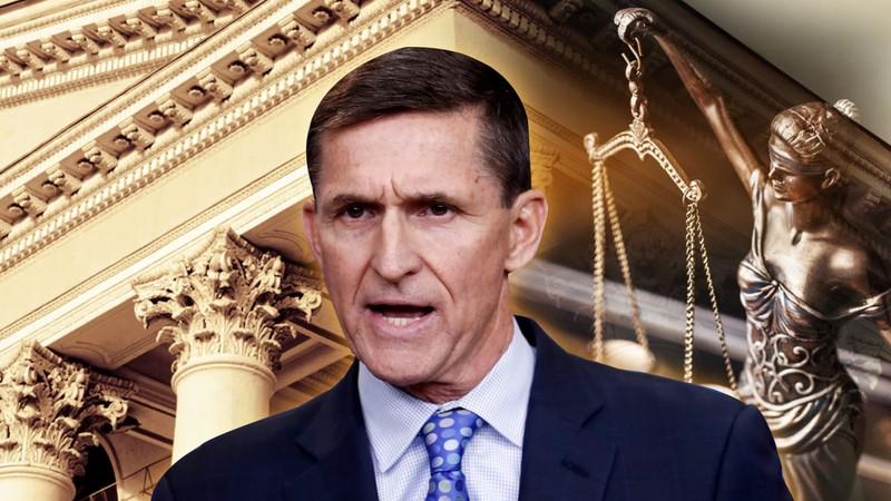 Cố vấn An ninh Quốc gia Michael Flynn từ chức tháng 2-2017. Ảnh: DAILY BEAST