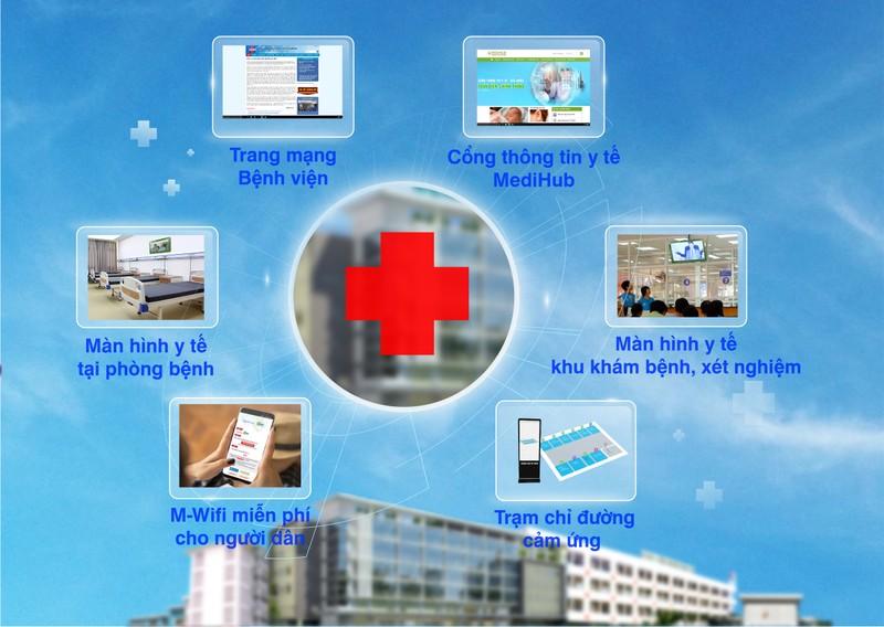 Hàng chục bệnh viện ở TP.HCM có WiFi nhờ triển khai 'số hóa'  - ảnh 1