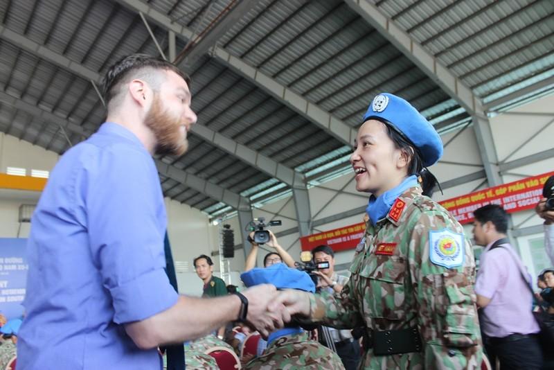 63 bác sĩ quân y VN sẵn sàng qua châu Phi gìn giữ hòa bình - ảnh 5