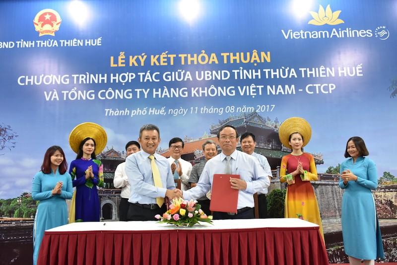 Thừa Thiên-Huế quảng bá du lịch bằng hàng không - ảnh 1