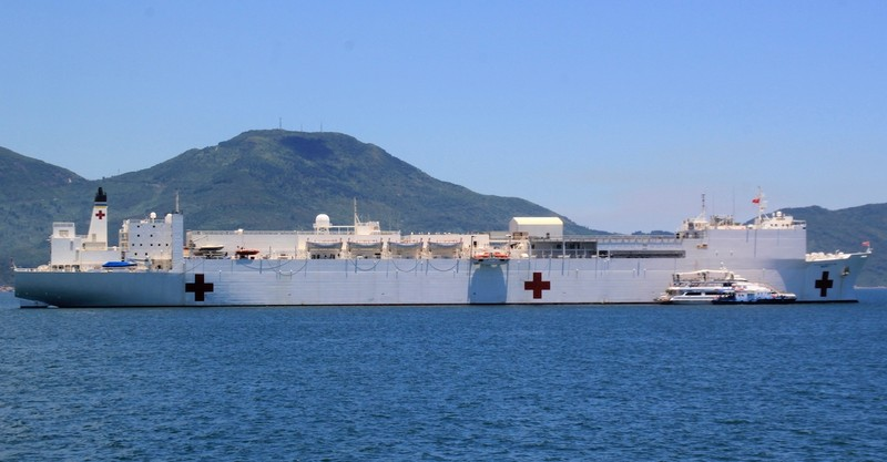 Tàu USNS Fall River Hải quân Mỹ sẽ tới Đà Nẵng - ảnh 1