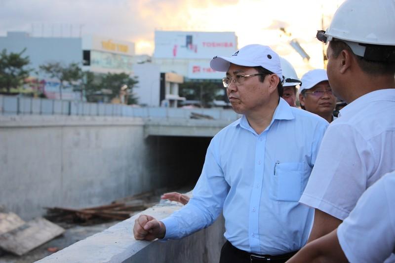 Hầm chui gần 120 tỉ trước rủi ro không kịp APEC - ảnh 2