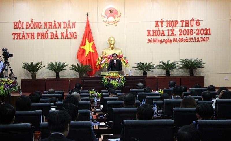 Khuyết chủ tịch, HĐND Đà Nẵng vẫn khai mạc kỳ họp thứ 6 - ảnh 2