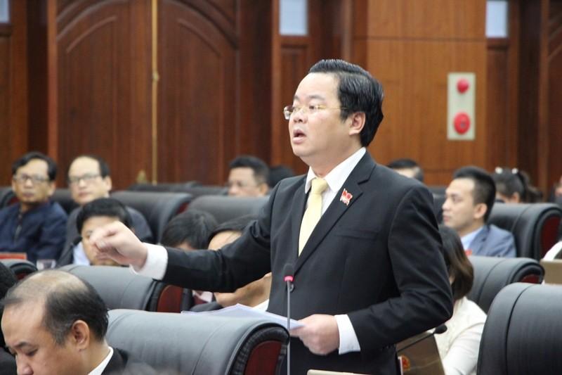 Đại biểu Đà Nẵng tranh luận về phí giữ xe bệnh viện  - ảnh 1