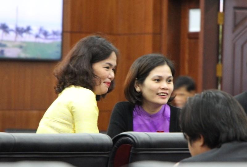 Những nữ đại biểu làm nóng nghị trường Đà Nẵng - ảnh 7