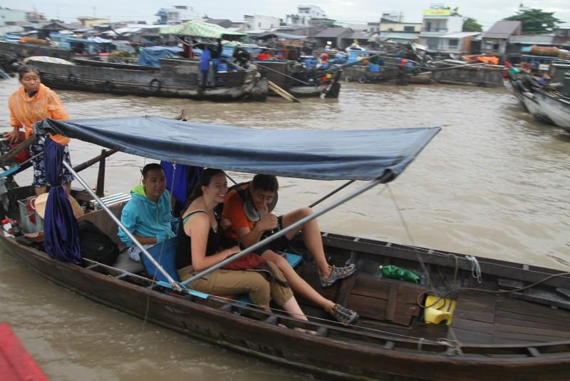Bồng bềnh trên sông nước ngắm chợ nổi Cái Răng - ảnh 5