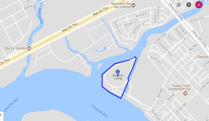 Nhà đầu tư địa ốc cùng TP làm cầu qua đảo Kim Cương - ảnh 1
