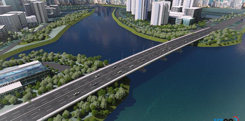Bắt đầu xây cầu qua đảo Kim Cương - ảnh 3