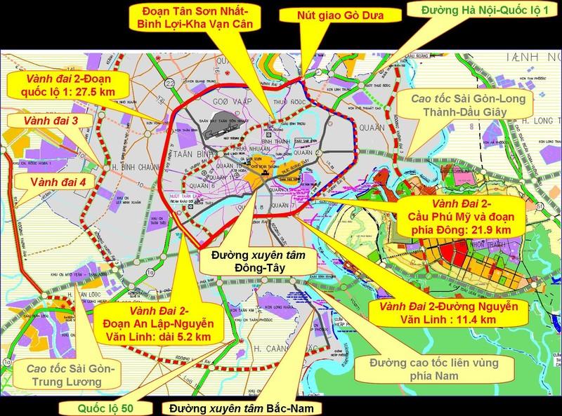 Áp lực hạ tầng giao thông siêu đô thị TP.HCM rất lớn - ảnh 2