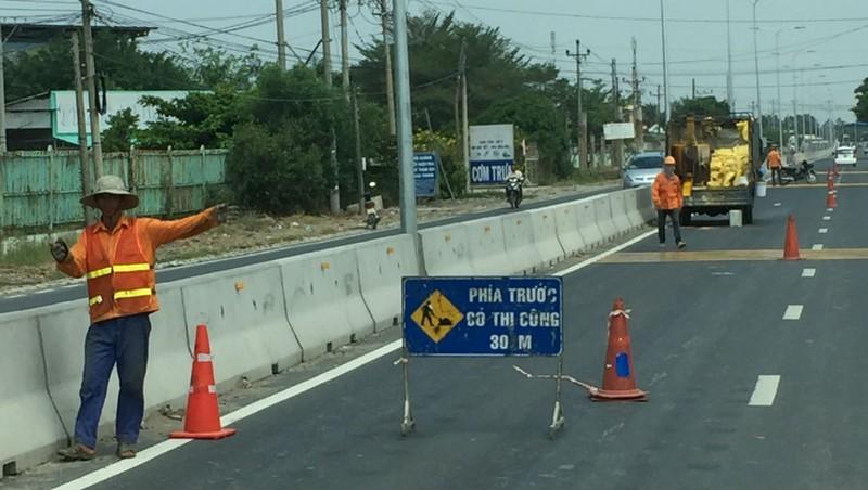 Tuyến tỉnh lộ đầu tiên ở Long An thu giá BOT - ảnh 3