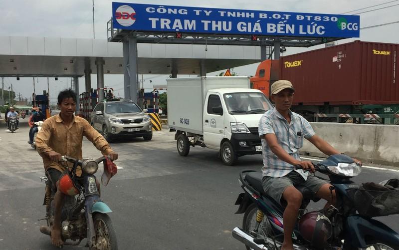 Giữa tháng 6, thu phí BOT tuyến đường tỉnh đầu tiên - ảnh 1