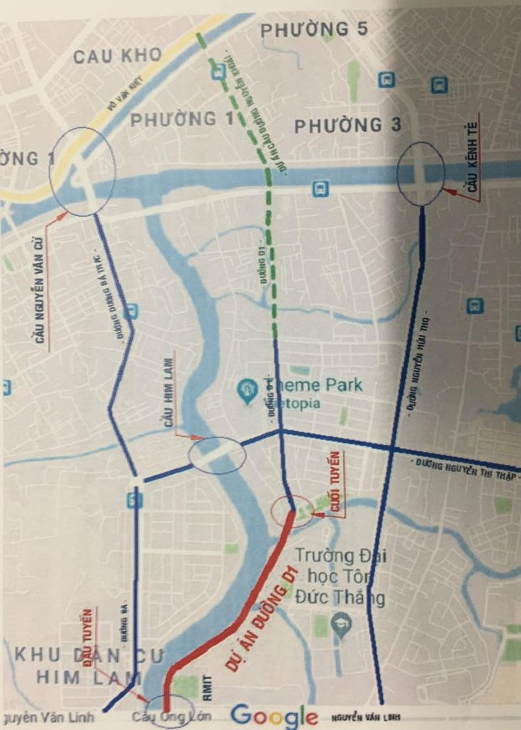 Thông đường nối các trường đại học và khu dân cư - ảnh 6