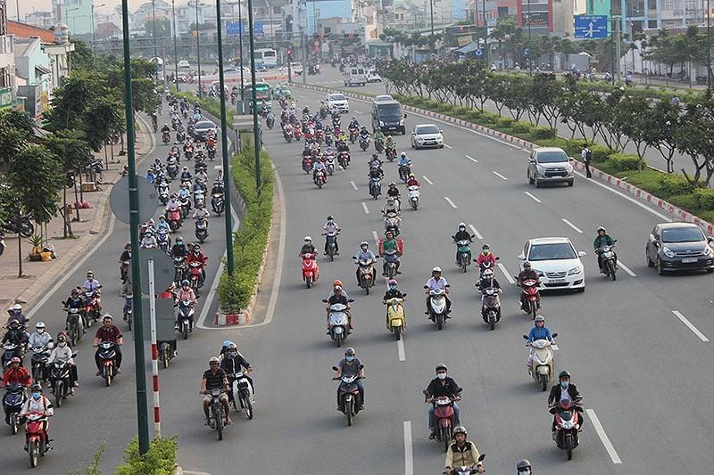 TP.HCM: Đề nghị giảm tốc độ 10 tuyến đường  - ảnh 1
