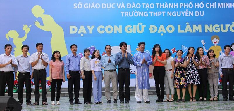 Trường THPT Nguyễn Du lập CLB dành riêng cho phụ huynh - ảnh 5