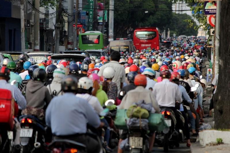 ket xe đường Điện Biên Phủ