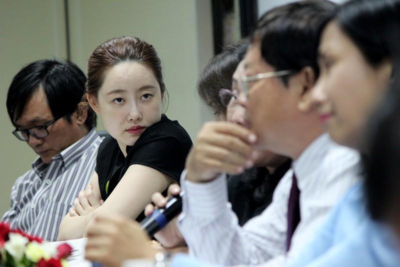 Đoàn Hội nhà báo Hàn Quốc thăm báo Pháp Luật TP.HCM - ảnh 10