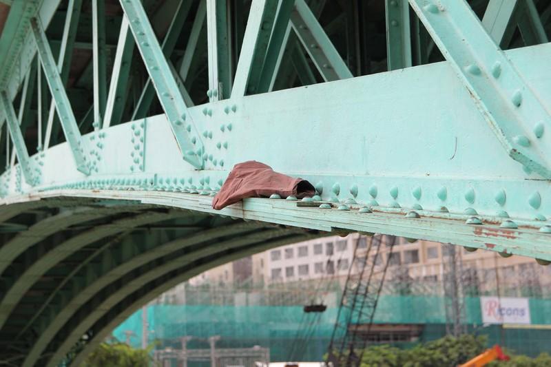 Cây cầu kiến trúc cổ nhất TP.HCM xuống cấp nghiêm trọng - ảnh 15
