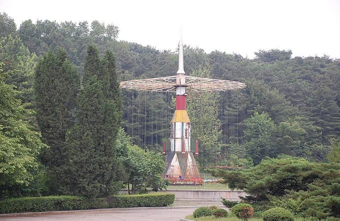Hình ảnh hiếm hoi trong công viên giải trí ở Triều Tiên - ảnh 11
