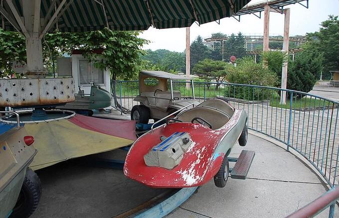 Hình ảnh hiếm hoi trong công viên giải trí ở Triều Tiên - ảnh 7