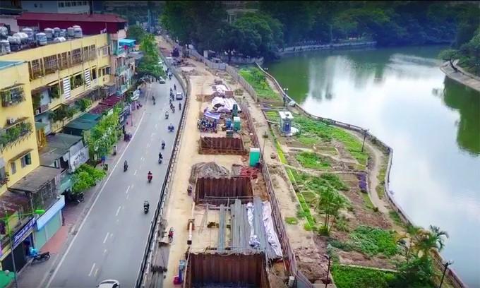 Toàn cảnh tuyến metro 36.000 tỉ đầu tiên ở Hà Nội - ảnh 10