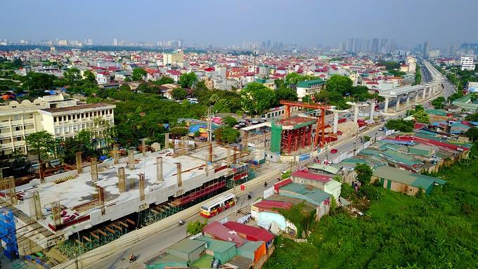 Toàn cảnh tuyến metro 36.000 tỉ đầu tiên ở Hà Nội - ảnh 2