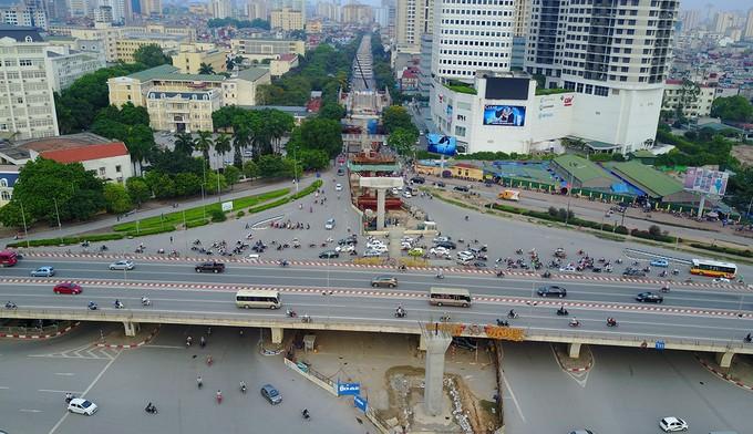 Toàn cảnh tuyến metro 36.000 tỉ đầu tiên ở Hà Nội - ảnh 5