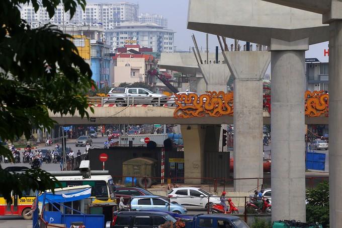Toàn cảnh tuyến metro 36.000 tỉ đầu tiên ở Hà Nội - ảnh 6