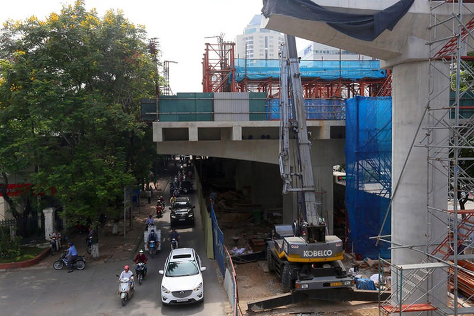 Toàn cảnh tuyến metro 36.000 tỉ đầu tiên ở Hà Nội - ảnh 8