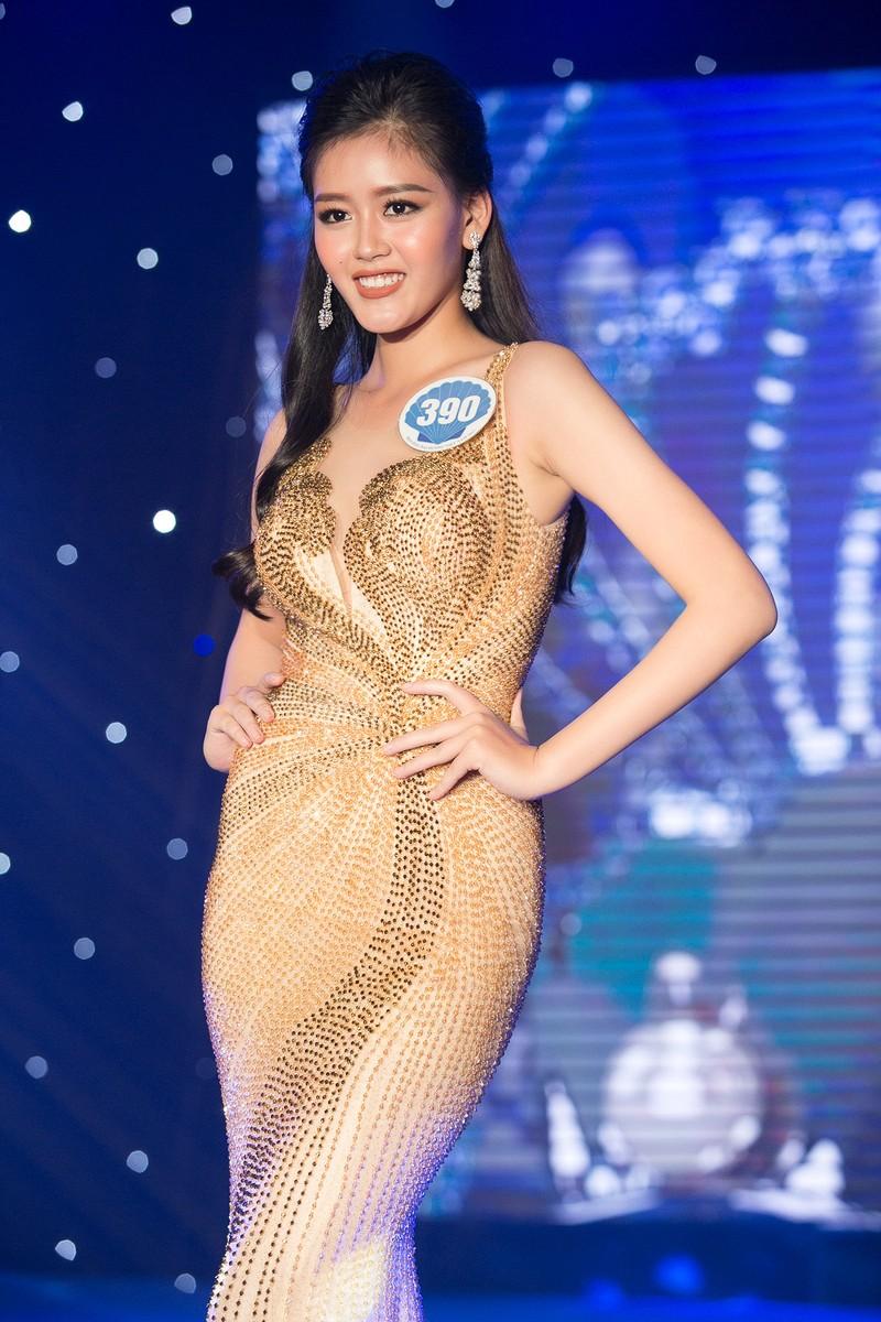 Dàn người đẹp HH Đại Dương khoe dáng trong đêm bán kết - ảnh 11