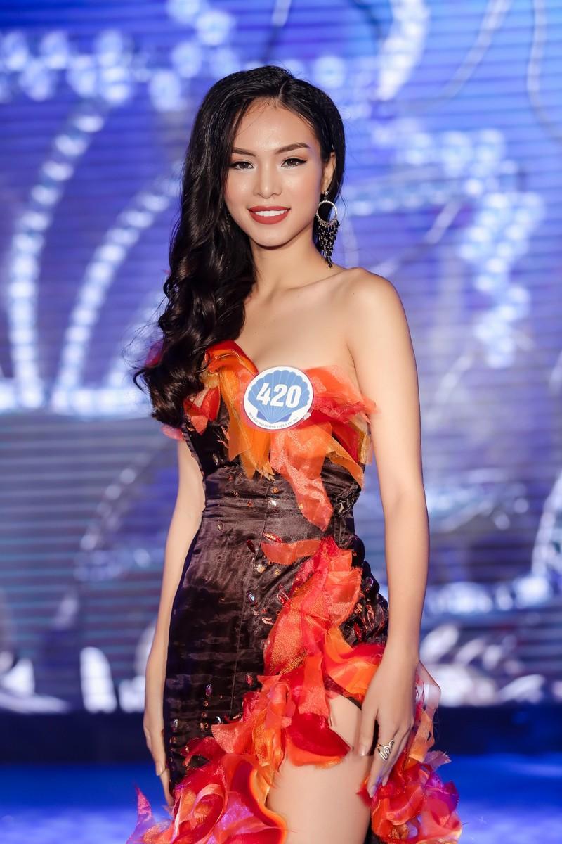 Dàn người đẹp HH Đại Dương khoe dáng trong đêm bán kết - ảnh 13
