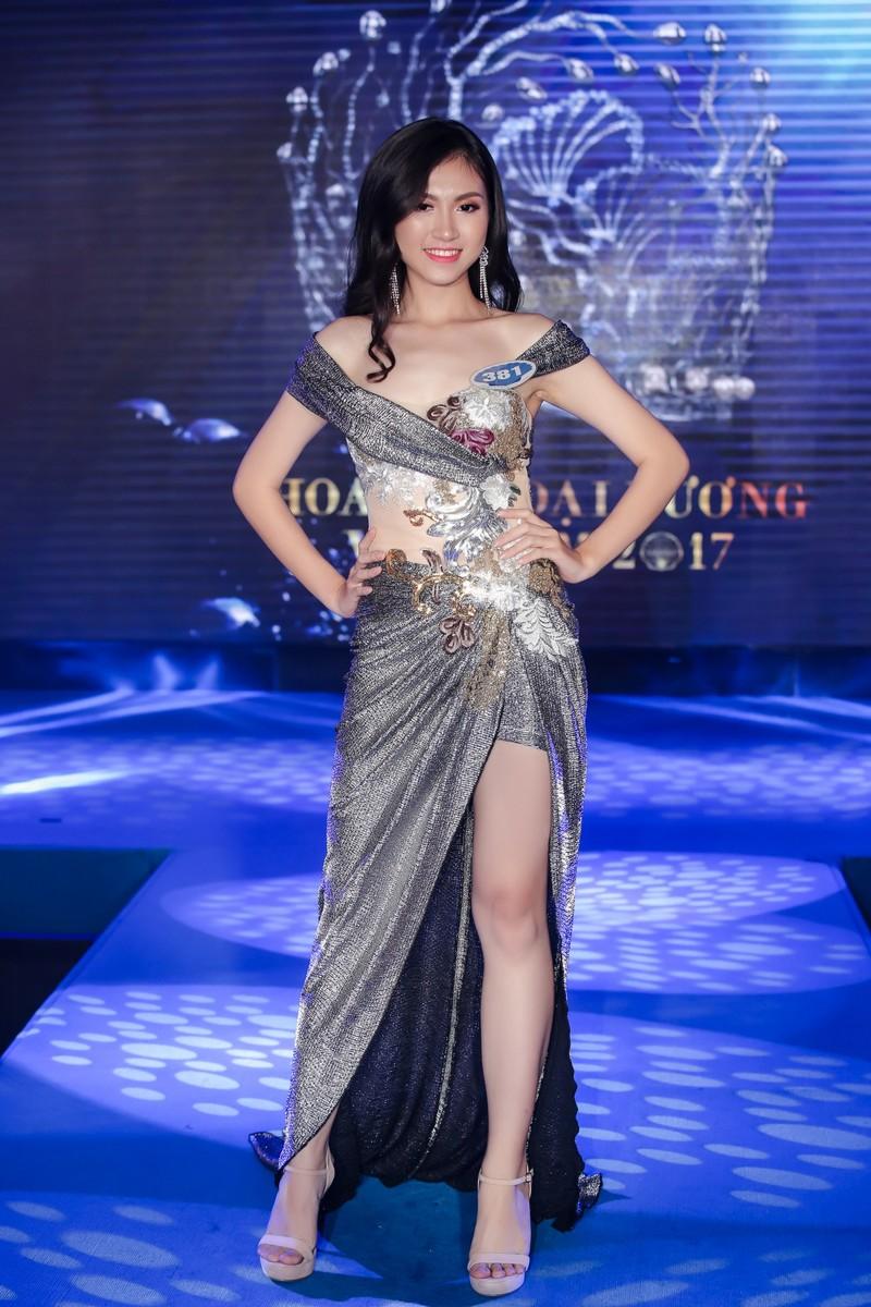 Dàn người đẹp HH Đại Dương khoe dáng trong đêm bán kết - ảnh 9