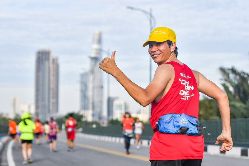 Những hình ảnh ấn tượng ở giải Marathon Quốc tế TP.HCM - ảnh 10