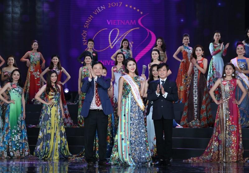 Nữ sinh Tây Đô đăng quang Hoa khôi Sinh viên VN 2017 - ảnh 13