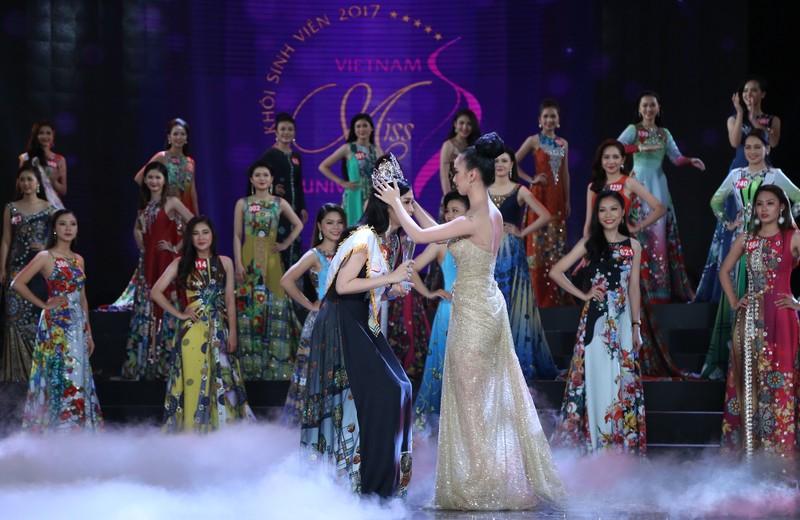 Nữ sinh Tây Đô đăng quang Hoa khôi Sinh viên VN 2017 - ảnh 3