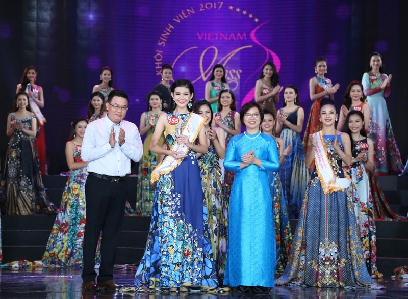 Nữ sinh Tây Đô đăng quang Hoa khôi Sinh viên VN 2017 - ảnh 5