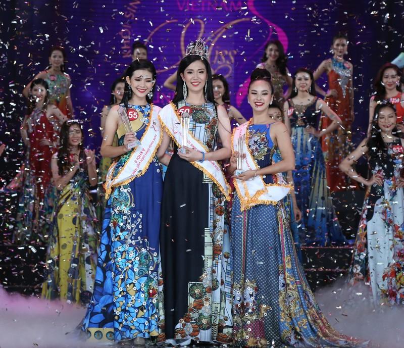 Nữ sinh Tây Đô đăng quang Hoa khôi Sinh viên VN 2017 - ảnh 1